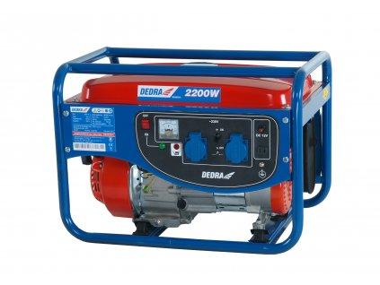 Benzínová elektrocentrála 2000 W DEDRA DEGB2510