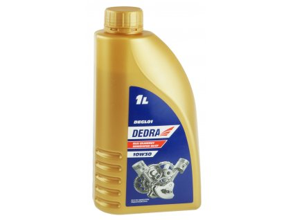 Olej do elektrocentrály Seimisyntex 10 W/30 DEDRA DEGL01