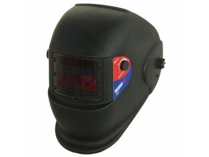 Samostmívací svářecí kukla, černá, průhled: 95x36 mm