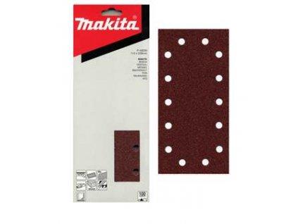 MAKITA - Brusný papír se suchým zipem 115x229mm, zrnitost 180 -…