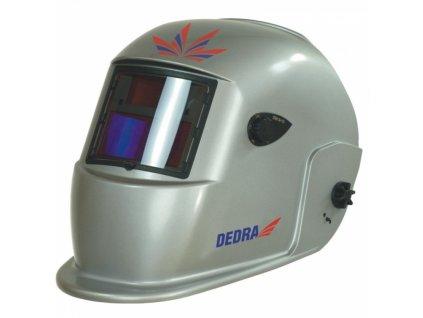 Samostmívací svářecí kukla 2-funkce průhled: 98x43 mm, 2 senzory DEDRA DES003