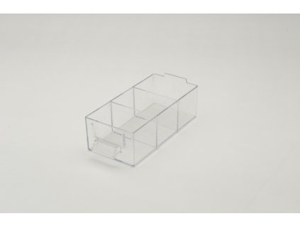 Krabička na šroubky, malá s přepážkami E 50x76x163mm MARS Svratka 6225