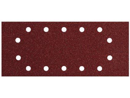 Brusné papíry do vibrační brusky 93x230mm - sada 10ks P40,80,120,180,240