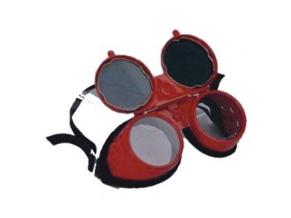 Svářečské kovové brýle