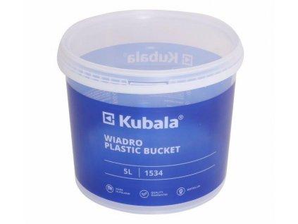 KUBALA - 5l kbelík plastový s měrkou a průsvitným víkem KUBALA K1534