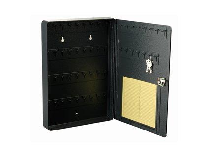 Plechová schránka na klíče, 34x24x4cm, 51 háčků MARS Svratka 6315