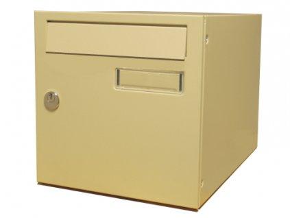 Poštovní schránka Mars, jedno-dvířková lakovaná