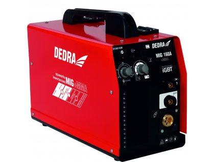 Svářecí invertor CO2 IGBT MIG/MAG, 160 A s funkcí MMA  + profesionální kombinovaná svářečka dodávána včetně kabeláže