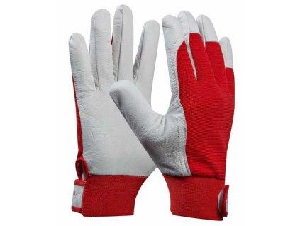 Pracovní rukavice kozinková useň UNI FIT COMFORT velikost 9