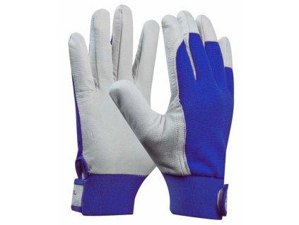 Pracovní rukavice kozinková useň UNI FIT COMFORT velikost 10