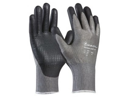Pracovní protiprořezové rukavice MULTIFLEX CUT 5 velikost 10 GEBOL 709296