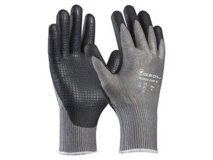 Pracovní protiprořezové rukavice MULTIFLEX CUT 5 velikost 10