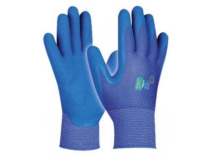 Dětské pracovní rukavice KIDS BLUE velikost 5