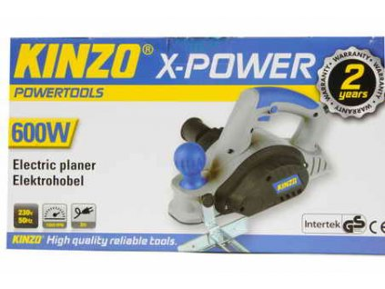 Elektrický hoblík Kinzo 600W X-POWER