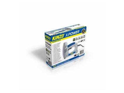 Elektrická sponkovačka a hřebíkovačka 6/16 mm, X-POWER KINZO 71806