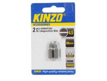 Bit plochý PL4,5 25mm - 2ks KINZO 72037