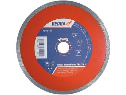 Celistvý diamantový řezný kotouč 230x25,4 mm hr.2,1 mm DEDRA H1125