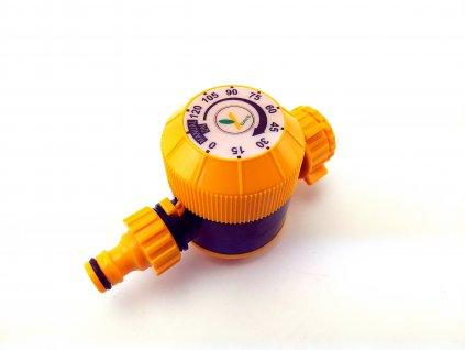Mechanický časový hadicový ventil na vodu, regulátor 0 až 120 min.