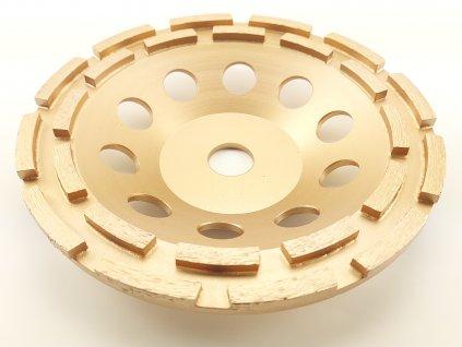 Diamantový brusný kotouč dvojitý PROFI segment 180x22,2 mm
