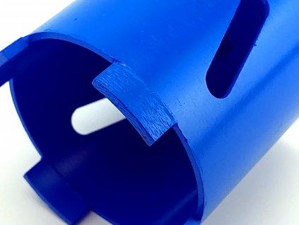 Diamantová vrtací korunka, průměr 82 mm délka 75 mm sada DEDRA H1222  + doporučujeme na elektrikářskou krabičku o průměru 68 mm do panelu