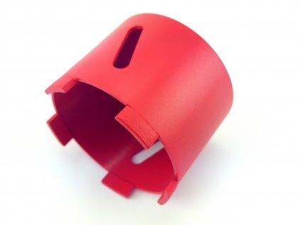 Diamantová vrtací korunka, průměr 82 délka 75 mm DEDRA H1231  + doporučujeme na elektrikářskou krabičku o průměru 68 mm do panelu