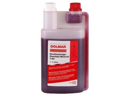 DOLMAR - motorový olej dvoutaktní 1:50 1000ml s dávkovačem