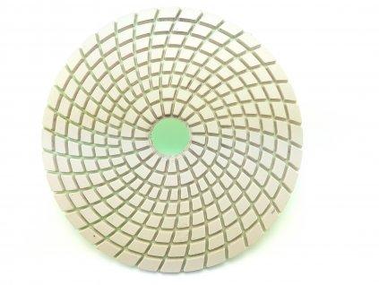 Diamantový leštící kotouč na žulu, mramor a sklo, hr.3000 průměr 125 mm