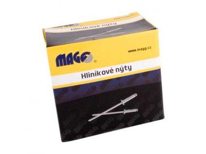 Hliníkové trhací nýty 3,2 x 11,0mm - 1000ks/bal. MAGG ALN32110