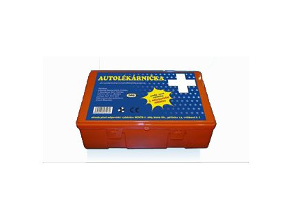 Autolékárnička dle novelizace k 1.1.2011 - plastový obal MAGG AUTOL C