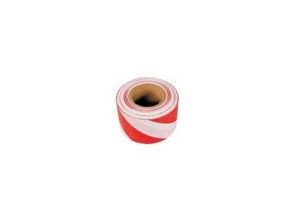 Barierová páska 100 mm - červeno-bílá - délka 100m DEN BRAVEN B712RL