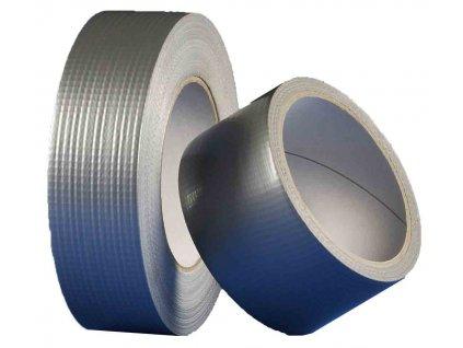 Den Braven - univerzální textilní páska 25mm x 25m - stříbrná