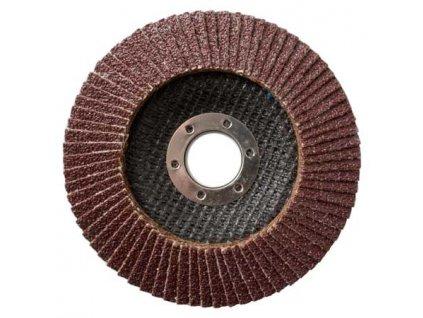 Lamelový brusný kotouč na dřevo (korund) 115x22,2 mm/120