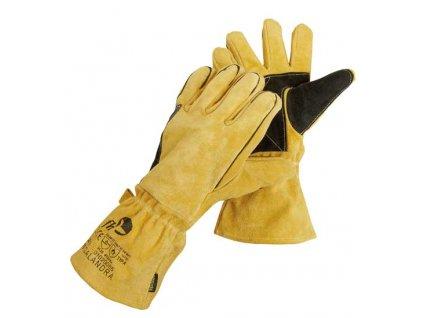 Celokožené rukavice pro svářeče - velikost 11 CERVA GROUP a. s. CALANDRA
