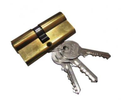 Cylindrická vložka + 3 klíče (30+35mm) MAGG CY65
