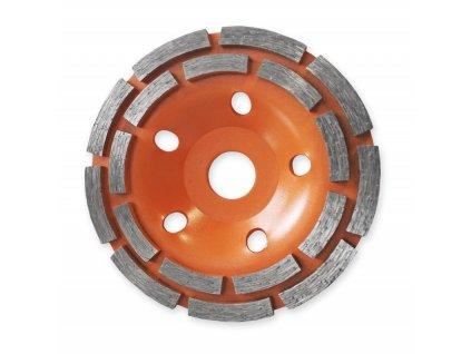 Diamantový brusný kotouč dvojitý Segment POP 180x22,2 mm DEDRA HP042
