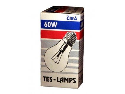 Topný článek E27 60W - čirá TES-LAMP s.r.o. E27060CIRA