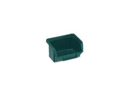 Krabička do dílny pro usklanění malých spojovacích materiálů 11x10x5 - zelený MAGG ECOBOX110Z