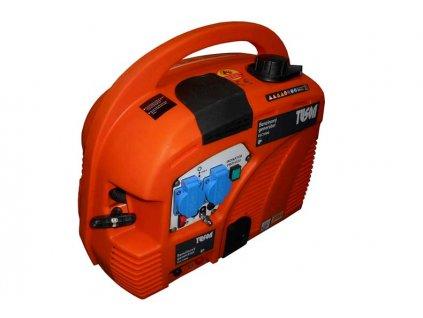 Benzínová elektrocentrála 750W OHV, AVR, jednofázová, výstup 2x220V