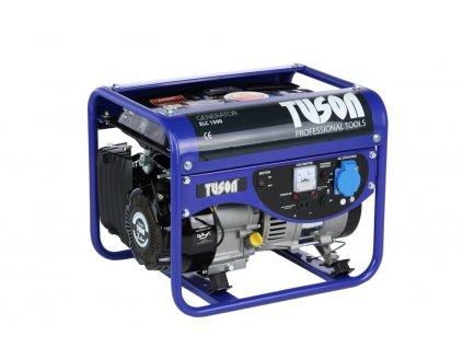 Benzínová elektrocentrála 1200W OHV, AVR, jednofázová, výstup 1x220V TUSON ELC1500