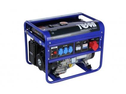 Benzínová elektrocentrála 5500W OHV, AVR, třífázová, výstup 3x220V + 1x380V TUSON ELC6500T