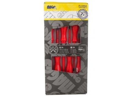 Sada 7 ks elektrikářských šroubováků (3xPL,3xPH,1xzkoušečka) MAGG FL1054