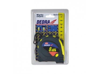 Svinovací metr POP 5 m/16 mm žlutý DEDRA M558