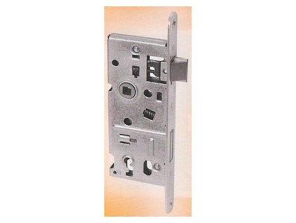 Zámek pro mezipokojové dveře 72/40, rozteč 72, dorn 40, zádlab 60 - klíčový
