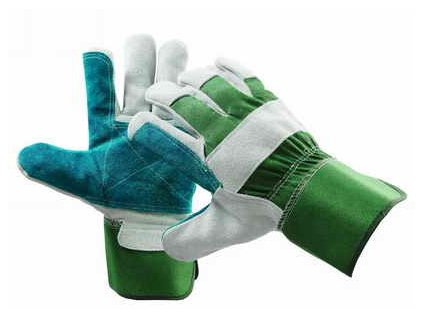 Pracovní rukavice hovězí štípenka vel. 12
