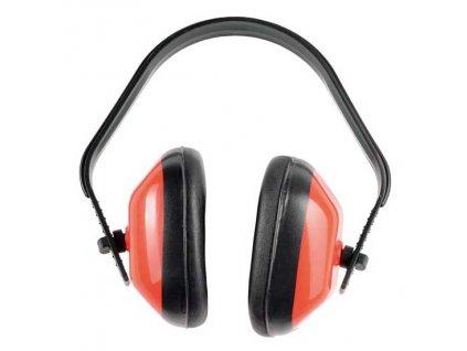 Mušlový chránič sluchu červený