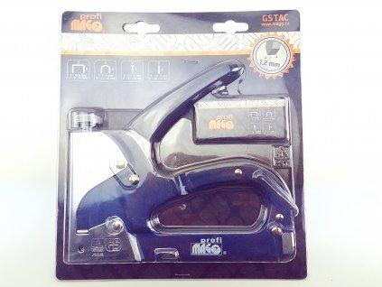 Ruční sponkovačka spony/hřebíky 3v1 MAGG PROFI GSTAC