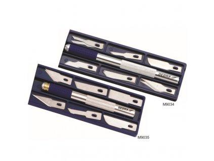 Multifunkční nůž skalpel 12 břitů DEDRA M9035