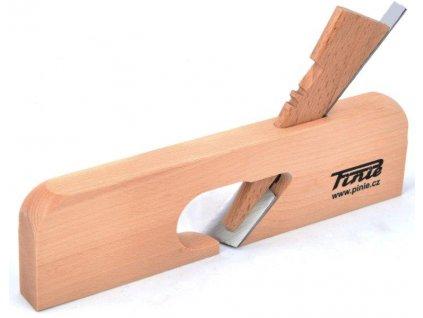 Dřevěný úzký hoblík římsák 27mm