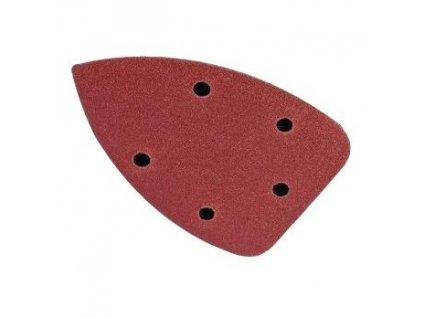 Brusný papír se suchým zipem delta 140x140x80 A180 - 5ks MAGG KRT220008
