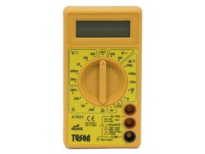 Digitální multimetr basic KT831 TUSON KT831